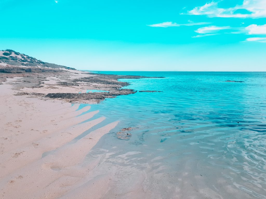 Ocean at Exmouth