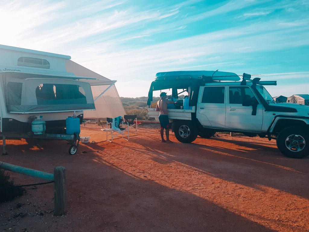 Camping in a Jayco Expanda